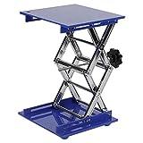 Piattaforma elevatrice, tavoli elevatori in ossido di alluminio Piattaforma elevatrice da laboratorio Staffa a forbice 200 * 200 * 280mm