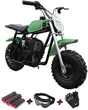 X-Pro Kids Dirt Pit Bike 40cc Mini Dirt Bike Gas Bike Off Road Ride-on Bikes with Gloves, Goggle and Handgrip