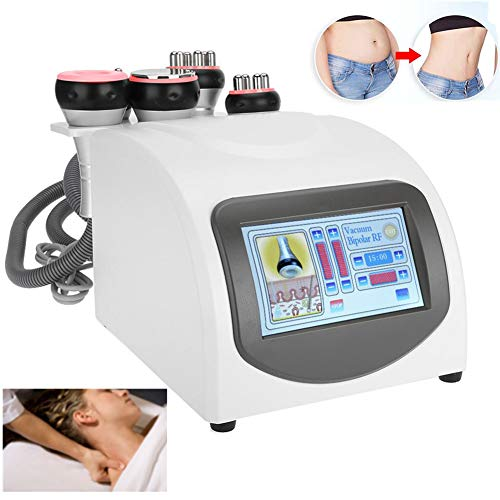 Jadpes Machine multipolaire RF, Body Shaping Massager, Massage de cavitation multipolaire Professionnel à Pression négative de Massage de la Peau de beauté, Instrument de radiofr