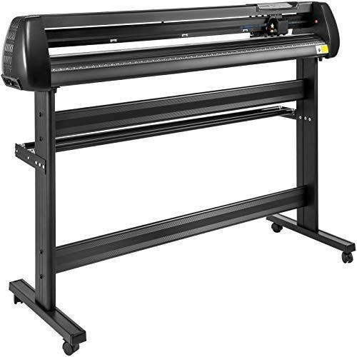 VEVOR Vinyl Cutter 53Inch Vinyl Cutter Machine Manual Vinyl Printer Plotter Cutter with Floor Stand Vinyl Plotter Adjustable Force Speed for Sign Making