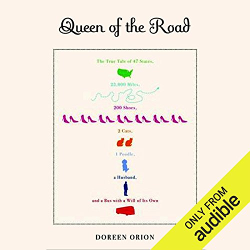 Queen of the Road audiobook cover art