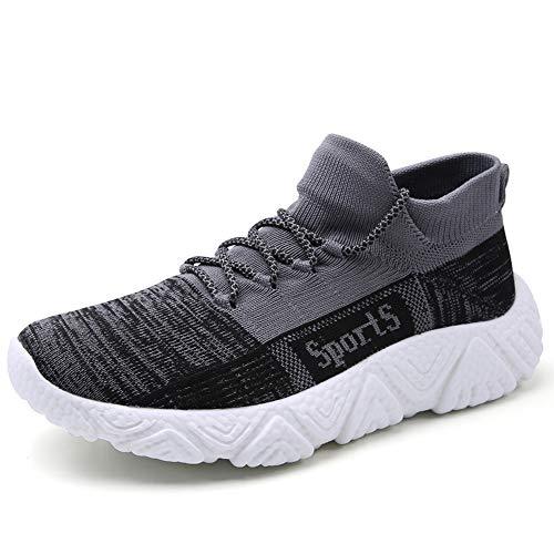 BOTEMAN Turnschuhe Herren Laufschuhe Sportschuhe Straßenlaufschuhe Sneaker Atmungsaktiv Joggingschuhe Walkingschuhe Traillauf Freizeitschuhe Trainer Fitness Schuhe