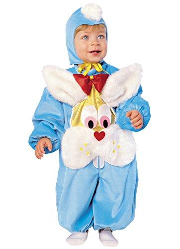 Stamco Disfraz Bebe Conejito Azul (1 - De 0 a 6 Meses)