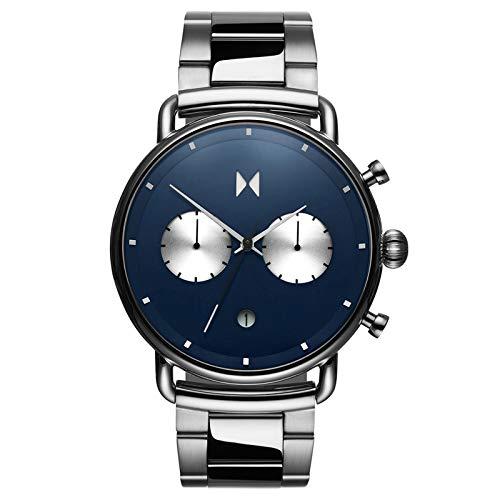 MVMT Blacktop Relojes | Reloj analógico para hombre de 47 mm