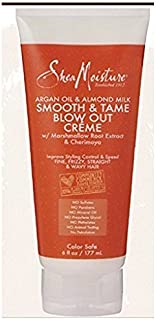 sheamoisture argan oil & almond milk smooth & tame blow out creme 6 fl oz