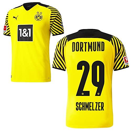 PUMA Borussia Dortmund BVB Heimtrikot 2021 2022 Home Trikot Sponsor BL Logo Kinder Marcel Schmelzer 29 Gr 128