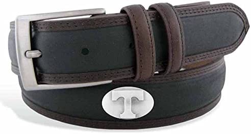 ZeppelinProducts UTN-BBLPS-BLK-34 Tennessee Ranking TOP13 Concho Max 42% OFF Two Leat Tone