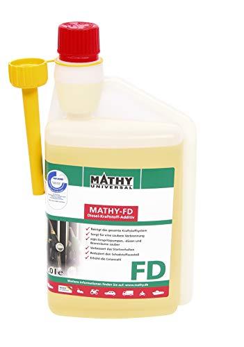 MATHY-FD Diesel-Systemreiniger für alle Dieselfahrzeuge 1 Liter für 1000 Liter Diesel