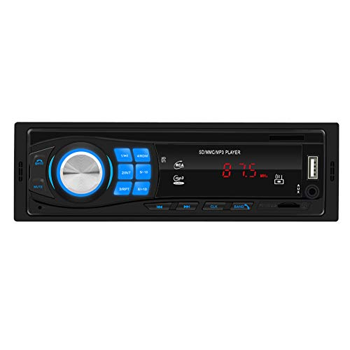 RONSHIN, Parti per SWM-8013 1DIN12 V Bluetooth Stereo autoradio in-Dash FM Ingresso AUX Ricevitore SD USB MP3 MMC WMA Car Audio Player