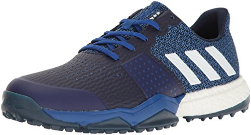adidas Men's Adipower S Boost 3 Golf Shoe, Blue, 10 M...