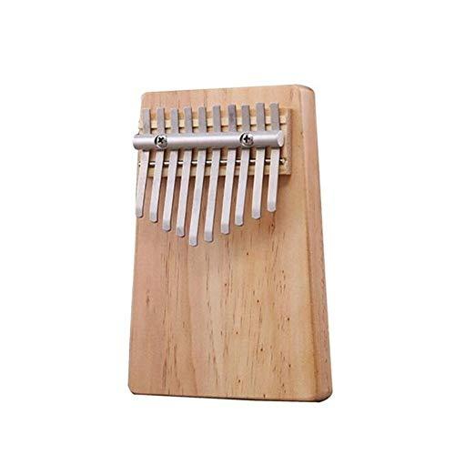 Kalimba, Daumenklavier 10/17 Tasten Kalimba Afrikanische aus Mahagoni Acacia Thumb Finger Piano Massivholz Kalimba Musikinstrument Hot Verkauf (Color : Solid wood 10 key)