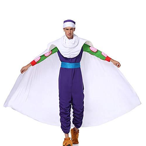 SHIXUE Disfraz Cosplay Dragon Ball Z Carácter Cosplay Halloween Fiesta Carnaval,L