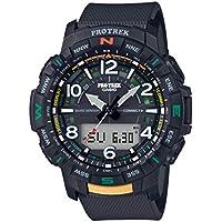 Casio Pro Trek Bluetooth Connected Quartz Sport Men' Watch with Resin Strap