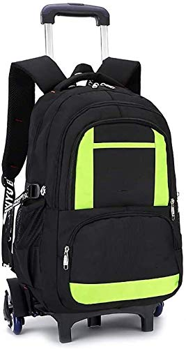Lhak Fashion backpack Fashion backpack tram bags of baby boy 3-5-6 3 laps six stairs detachable backpack school bag (color: black, size: free size) Suitable for outdoor, camping, office, school