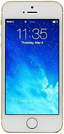 Apple iPhone 5S 16GB Factory Unlocked Smartphone, Gold (Renewed)