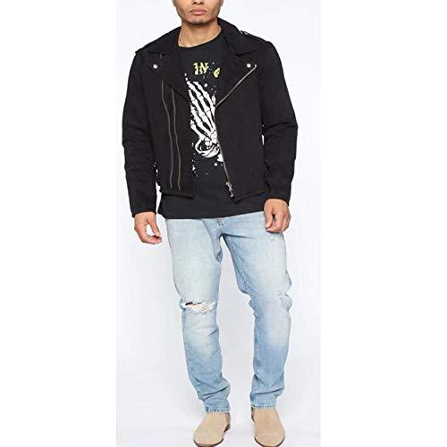 ShSnnwrl Cómodo y Suave Vaqueros para Jeans Pantalones Nuevos Pantalones Vaqueros Rasgados De Moda para Hombre, Pantalones De Mez