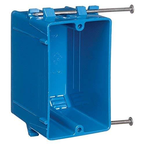 Thomas & Betts B118A 18 CU. in. 1-Gang Zip Box (Pack of 100)