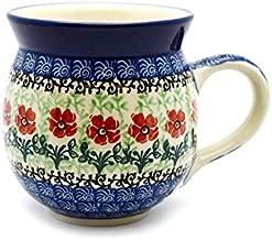 polish pottery coffee mugs