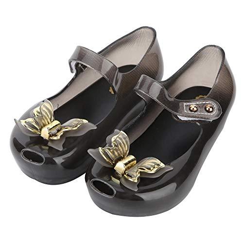 Baby Mary Jane sandalen kinderen gelei vlinder schoenen kleine kinderen meisjes kunststof vis mond schoenen