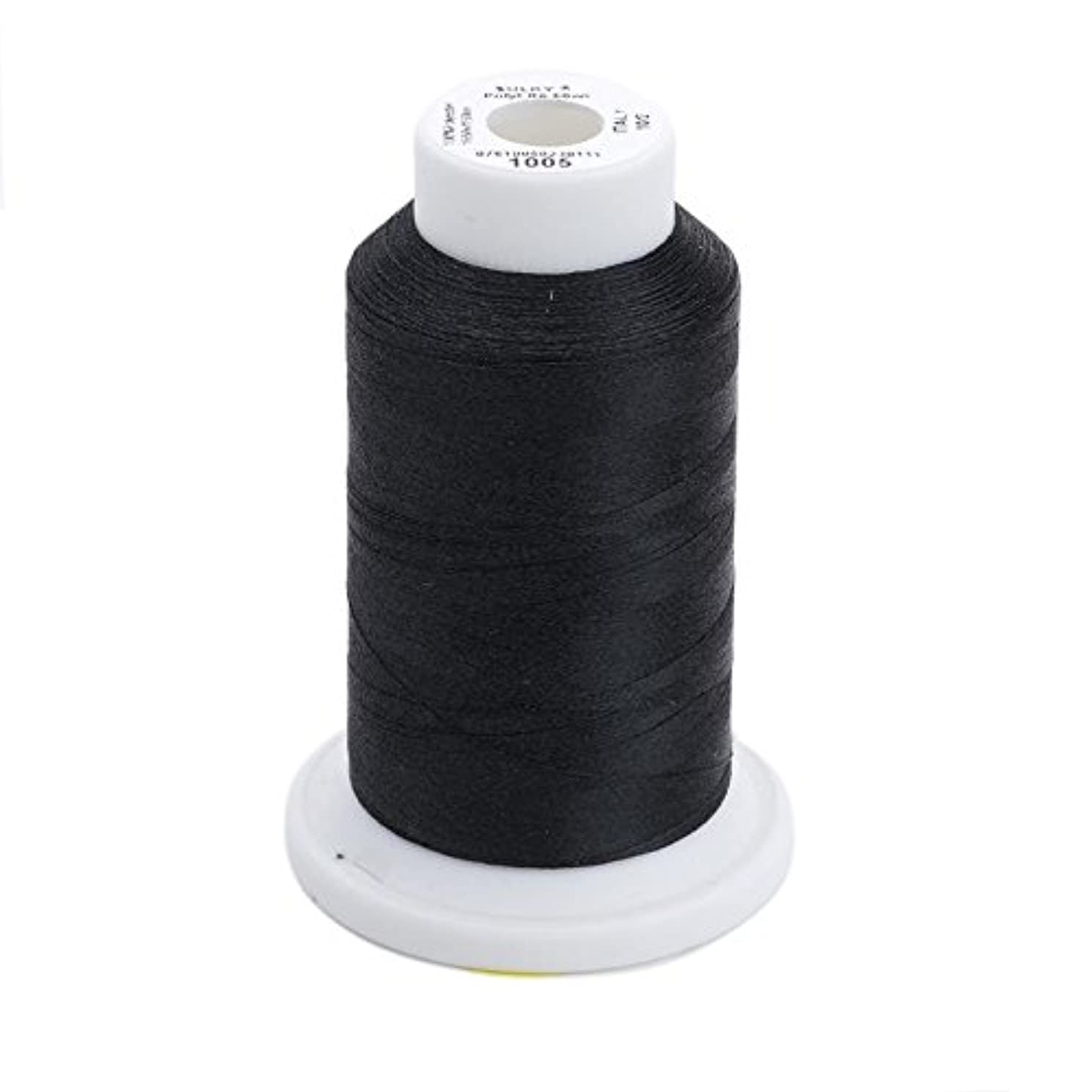 Sulky Of America 60wt Solid Polylite Thread, 1650 yd, Black