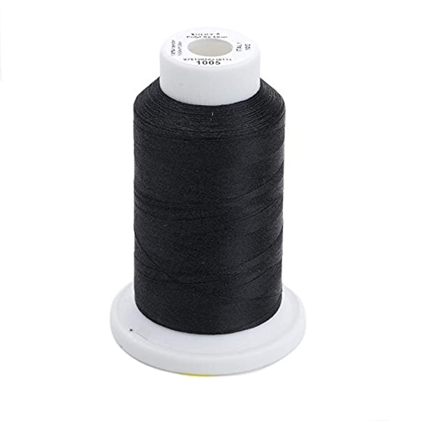 Sulky Of America 60wt Solid Polylite Thread, 1650 yd, Black