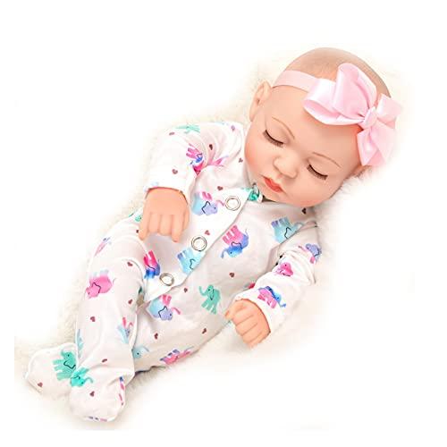 LYABANG Reborn Baby Dolls,muñecas Bebé Reborn Realistic Linda Cara Sonriente Silicona Suave Bebés,para Regalo De Cumpleaños Niños ReciénRegalo Navidad Apto Niños Mayores De 3 Años