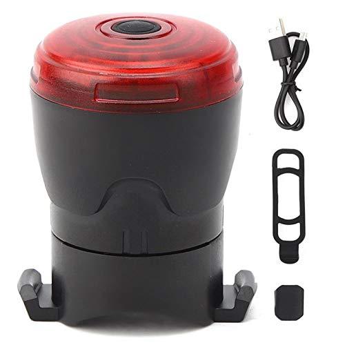 Shipenophy Con USB de carga Ciclismo Linterna de seguridad para fácil de usar y quitar espeleología y otras actividades al aire libre
