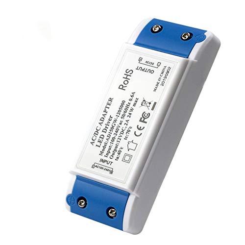 Trasformatore LED 12V,MEKEET LED Drive 24W Power Supply 12V DC 2A Tensione Costante LED Alimentatore usato per G4, GU10, MR11, MR16, Lampadine a LED, Striscia LED