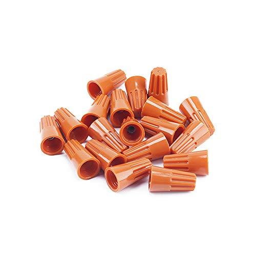 100pcs / lot P1 P2 P3 P4 P6 Splice Draht Twist Mutter Anschlussklemmen Cap Federeinsatz Sortiment Farbe Braun,P3