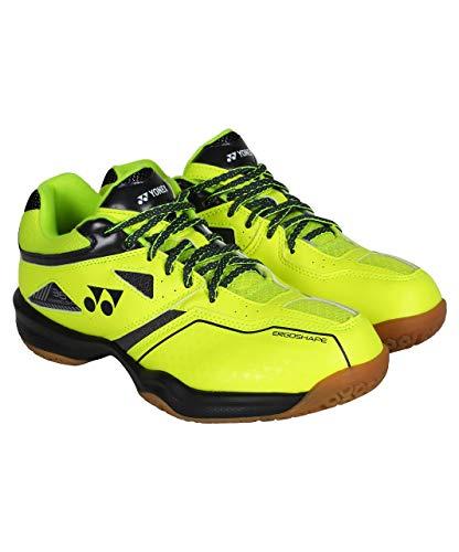 YONEX Power Cushion 36 Mens Bright Yellow Badminton Shoes (9 UK, Bright Yellow)