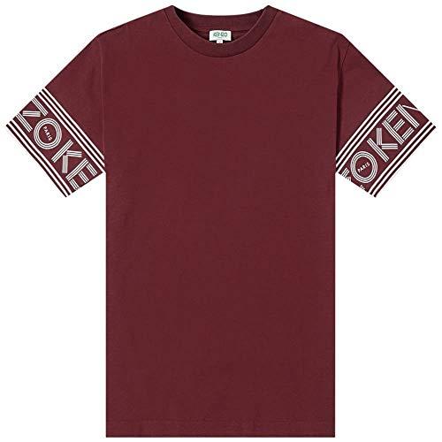 Kenzo Sport Paris T-Shirts (M, Burgundy)