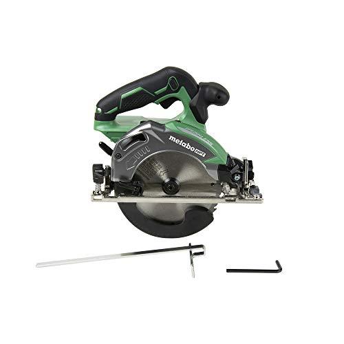 Metabo HPT Cordless Circular Saw | Tool Only | No Battery | 18V | 6-1/2u0022 Deep Cut Design | Brushless Motor | Lifetime Tool Warranty | C18DBALQ4