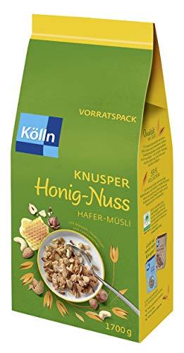 Kölln Müsli Knusper Honig Nuss, 1.7 kg