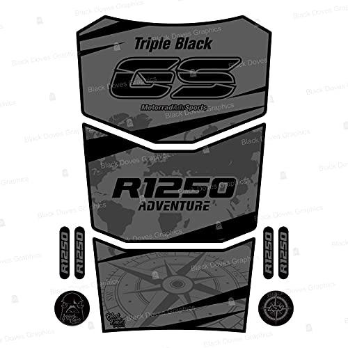 Protector adhesivo resinado compatible con R 1250 GS Adventure 2021 Tank Pad