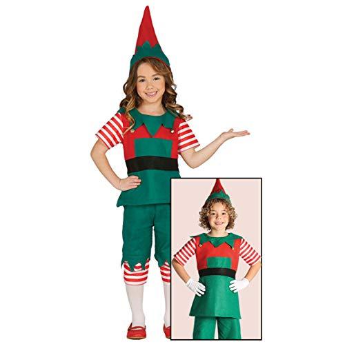 GUIRMA Costume da elfa Bambino Folletto Elfo