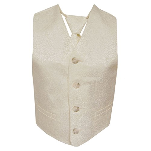 G.O.L. - Feestelijk vest jongens Regular fit met stropdas, crèmekleurig - 1927620