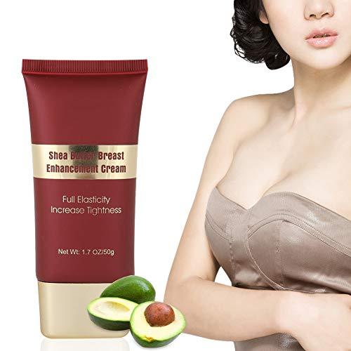Brustvergrößerung Creme, Brustcreme, Shea Butter Bruststraffung Brustvergrößerung Verbesserung Lifting Cream Hautpflege Straffende Brustcreme zur Brustvergrößerung