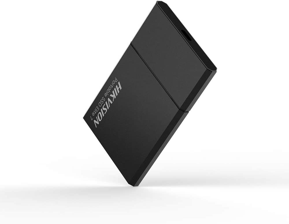 HIKVISION Elite 7 External Portable SSD 1TB Up to 1060MB//s USB 3.2 External Solid State Drive Night Black
