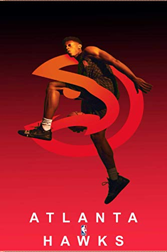 ATLANTA HAWKS: (Basketball) Notebook / Journal / bloc note - 120 pages 6x9