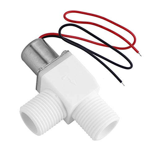 Válvula de control de agua, válvula solenoide, marca de flecha, válvula de descarga automática para grifos con sensor para sistema de riego de jardín para control de agua