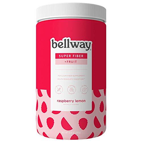 Bellway Sugar-Free Psyllium Husk Fiber Supplement, Raspberry Lemon, 13.8 oz.