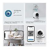 Zoom IMG-2 cacagoo 1080p telecamera wifi interno