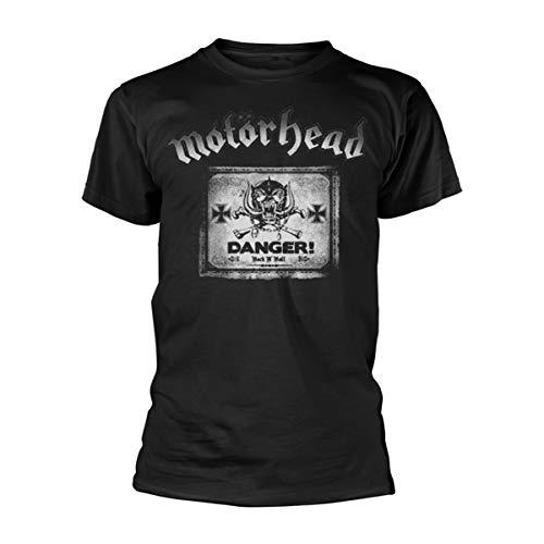 T-Shirt # M Black Unisex # Danger [Import]