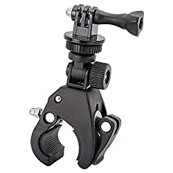 powerful Easy-to-install gun / rod / nose camera clip for GoPro Hero 7 6 5 4 3+ session action cameras,…