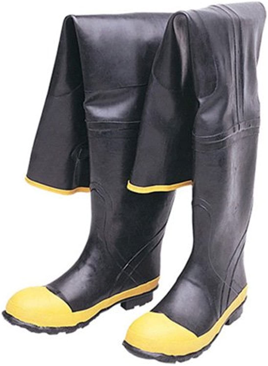 Liberty DuraWear Rubber Fabric Lined Predective Hip Wader Boot with Reinforced Knee and Front