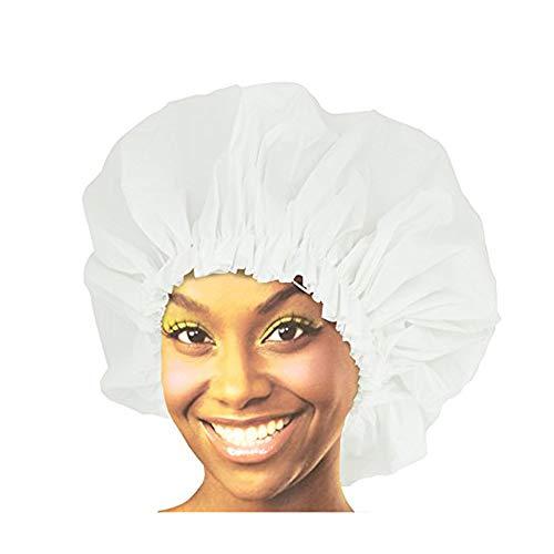 Donna Premium Collection Super Jumbo Shower Cap White 22163