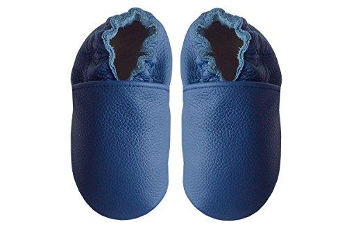 Rose & Chocolat Chaussettes, Bleu (Blue Rcc 184), 3-4 Ans (Taille Fabricant:34-28/29) Bébé garçon