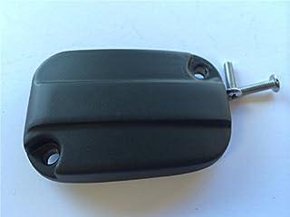 XKMT-Chrome Front Brake Fluid Reservoir Cap Compatible With 2007-2015 Harley Davidson Electra Glide Road B01A3V160S