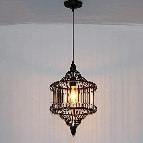 Retro kroonluchter industrie hanglamp/kroonluchter van gietijzer eenvoudig/kroonluchter/kroonluchter/kroonluchter/binnenverlichting Droplight 40W E27 (Edition: 1 lichtbron)