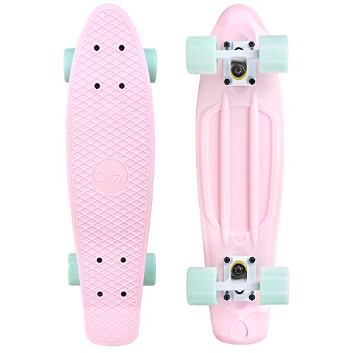 Lowest Price! Cal 7 Complete Mini Cruiser | 22 Inch Micro Board | Vintage Skateboard for School and ...